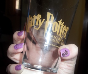 hand, harry potter, and nails image