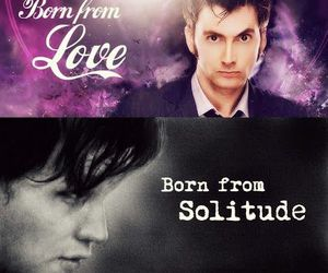 doctor who, david tennant, and solitude image