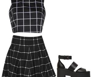 dark, fashion, and girl image
