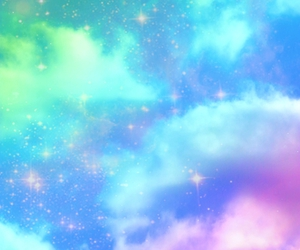 blue, clouds, and kawaii image