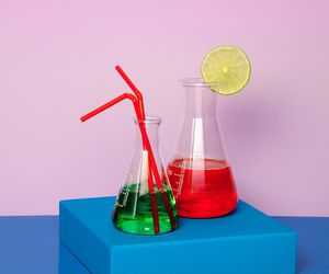 colorful, design, and drinks image