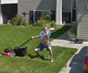 google street view and flasher image