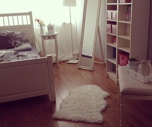 room, girl, and bedroom image