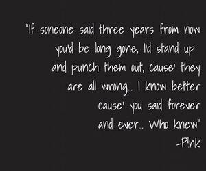 forever, like, and Lyrics image