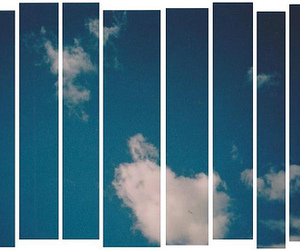 blue, photography, and clouds image