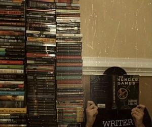 book, hunger games, and read image