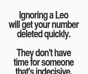horoscope and Leo image