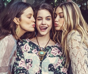 barbara palvin, gigi hadid, and model image