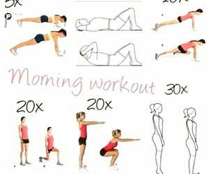 workout, fitness, and morning image