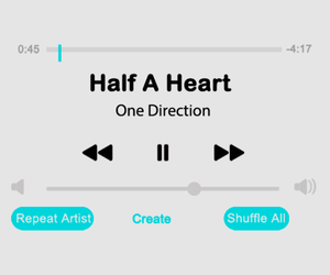 half a heart and one direction image