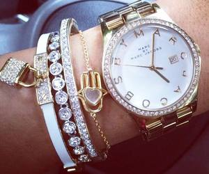 watch, marc jacobs, and jewelry image