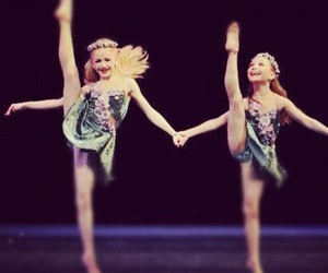 duet, dance moms, and maddie ziegler image