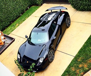 car, luxery, and porsche image