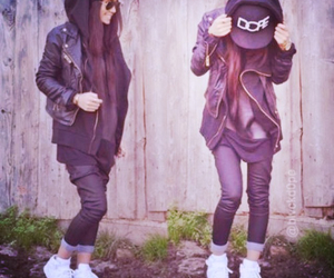 girl, style, and dope image