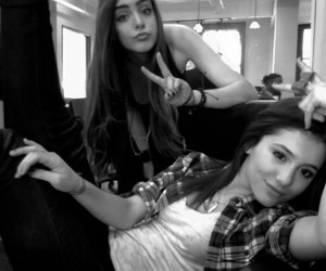 ariana grande, victorious, and elizabeth gillies image