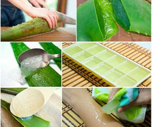 diy home remedy, diy remedy, and aloe remedy image