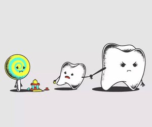 Image of: Cute Girl Candy Teeth And Sweet Image We Heart It 51 Images About Cute Drawings On We Heart It See More About