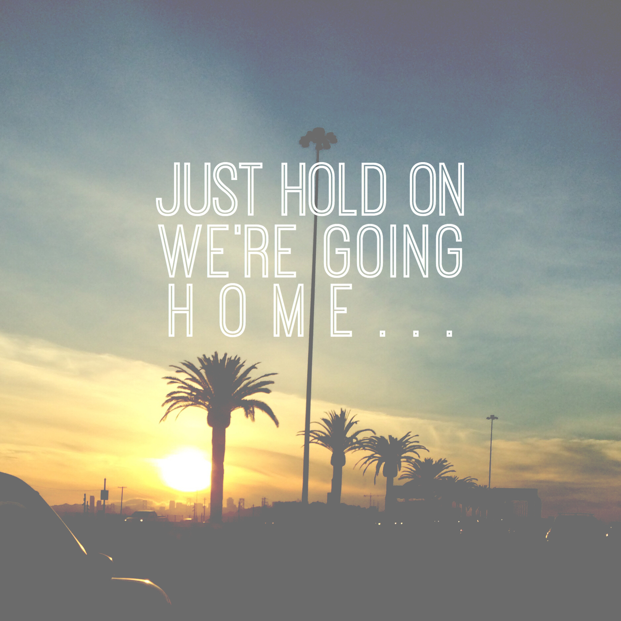 Just Hold On Were Going Home On We Heart It