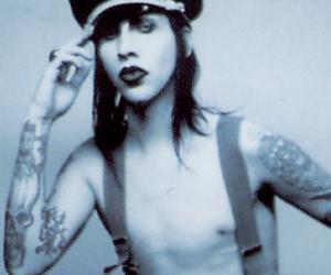 brian warner and Marilyn Manson image