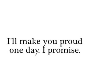 proud, promise, and text image