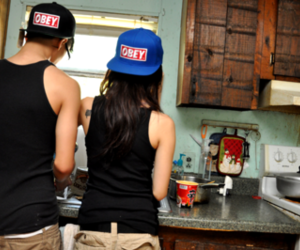 couple, love, and obey image