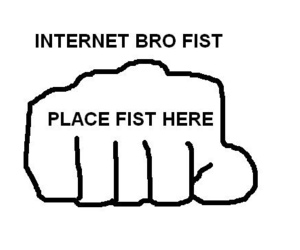 bro, fist, and funny image