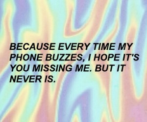 phone, grunge, and quote image