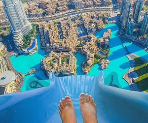 city, summer, and Dubai image