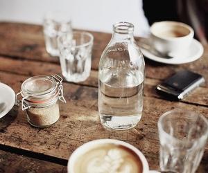 coffee, table, and sugar image