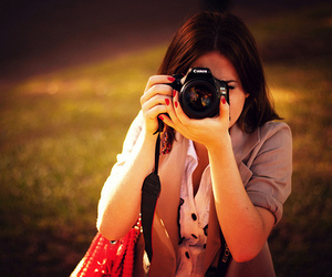 canon, girl, and hair image