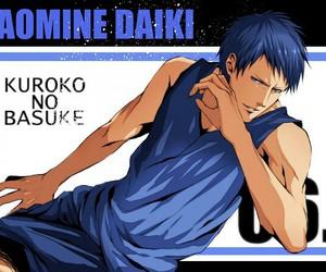 kuroko no basket, kuroko no basuke, and aomine daiki image
