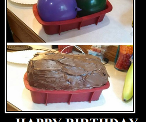 balloon, funny, and birthday image