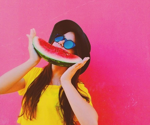 fresh, healthy, and watermelon image