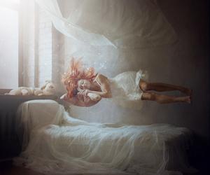 girl, Dream, and sleep image