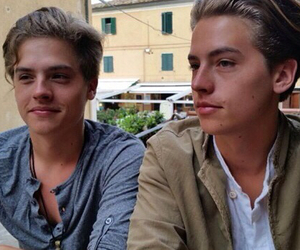 twins, boy, and cole sprouse image