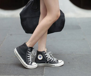 converse, fashion, and skirt image