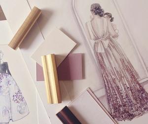 dress, art, and beautiful image