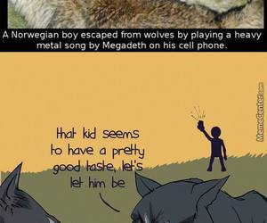 megadeth and wolf image