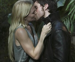 once upon a time, kiss, and hook image