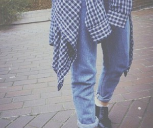 grunge, jeans, and style image