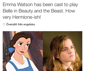 beautiful, belle, and funny image