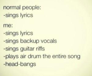 Lyrics, funny, and guitar image
