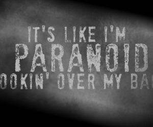papercut, paranoid, and linkin park image