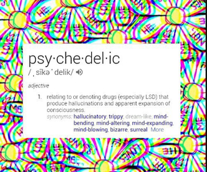 psychedelic and grunge image