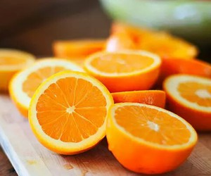 fitness, girl, and oranges image