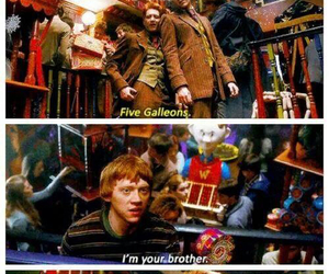 fandom, fred and george, and funny image