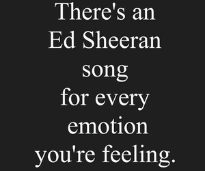 ed sheeran, song, and emotions image