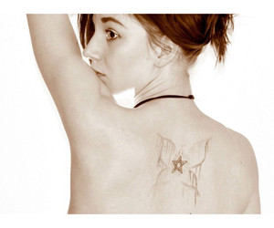 butterfly, butterfly tattoo, and girly tattoo image