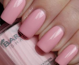 pink and nail polish image
