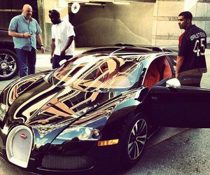 car, Drake, and bugatti image